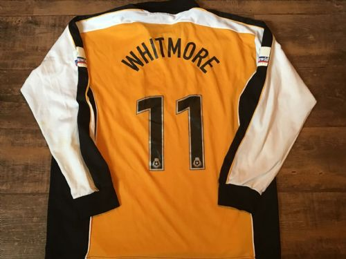2000 2001 Hull City Whitmore Match Worn Home Football Shirt XL
